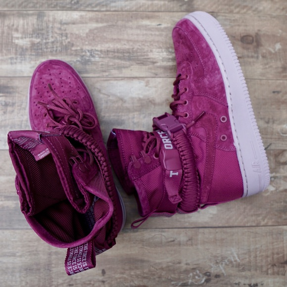 premium selection 0284a a8af5 *New* Nike SF AF1 The Force Is Female Vintage Wine NWT